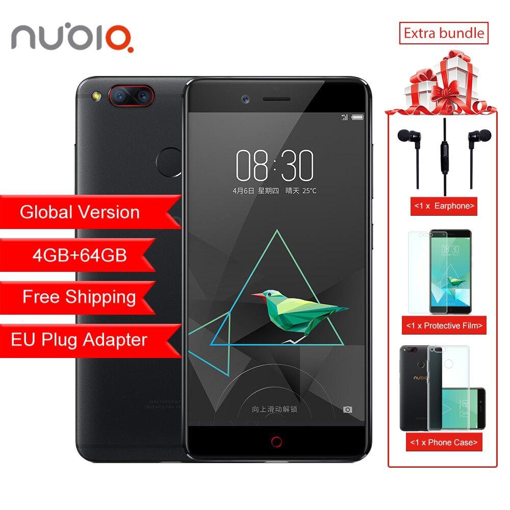 Globale Version ZTE Nubia Z17 Mini 4 gb RAM 64 gb ROM Handy Snapdragon Handy Dual Kamera FDD LTE 4g Unterstützung NFC OTA
