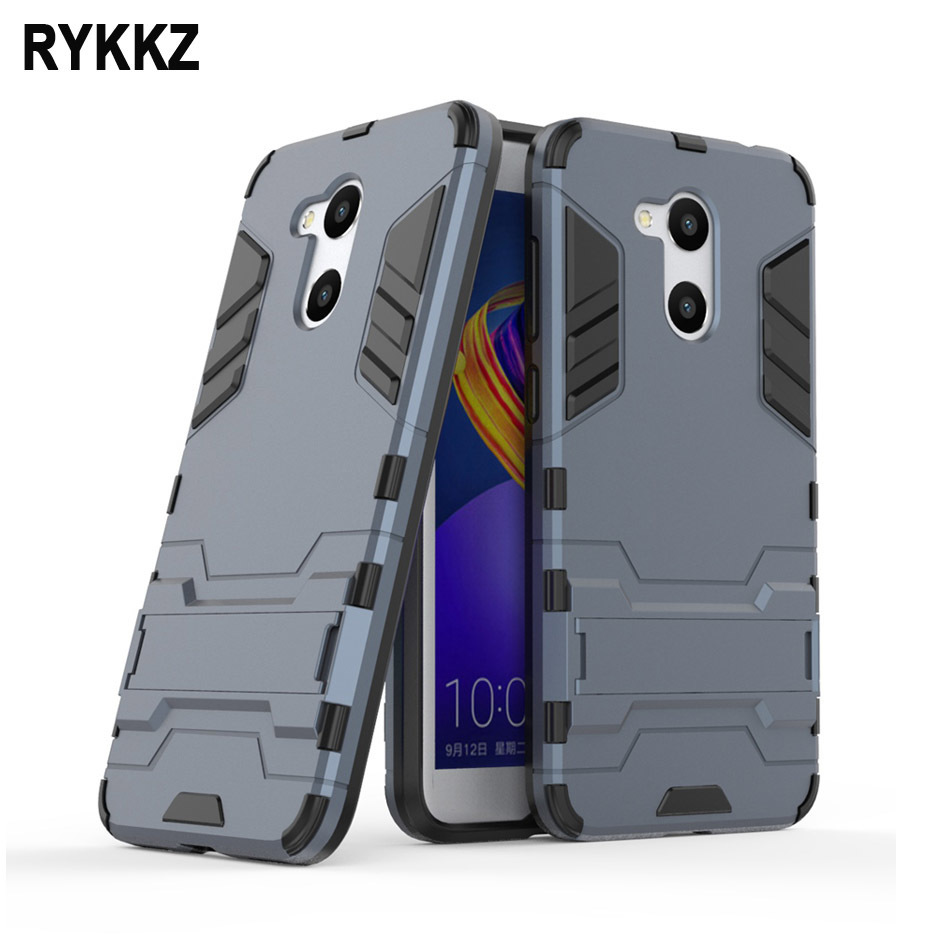 For Huawei Honor 6C Pro Case Shockproof Rugged Armor Hybrid Case 360 Stand Coque For Honor6c 6 c 6cpro V9 Play Phone Cover