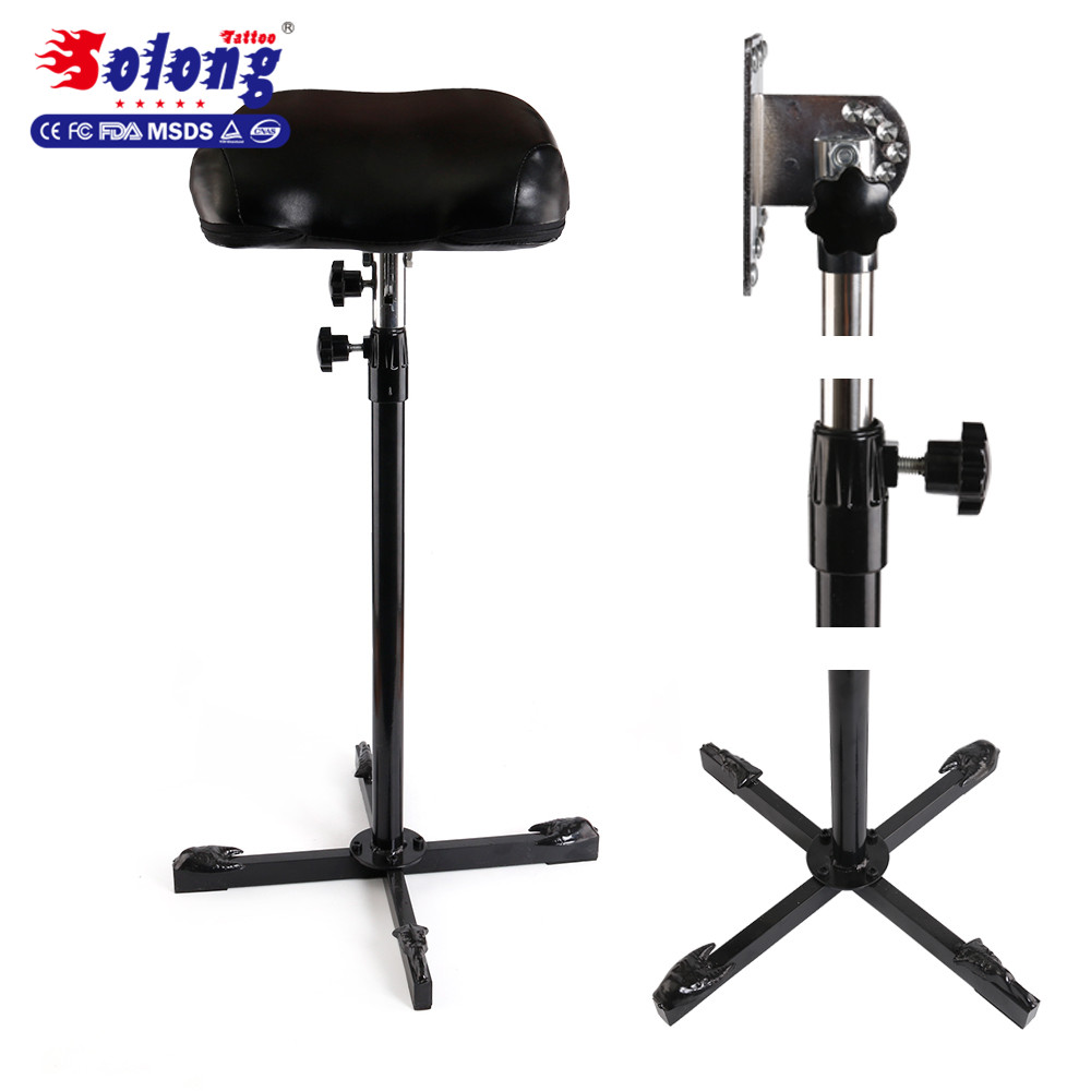 Фото Solong Tattoo New Professional Arm Rest Standing Chairs Leg Rest Full Adjustable Armrest Tattoo Supplies TA211