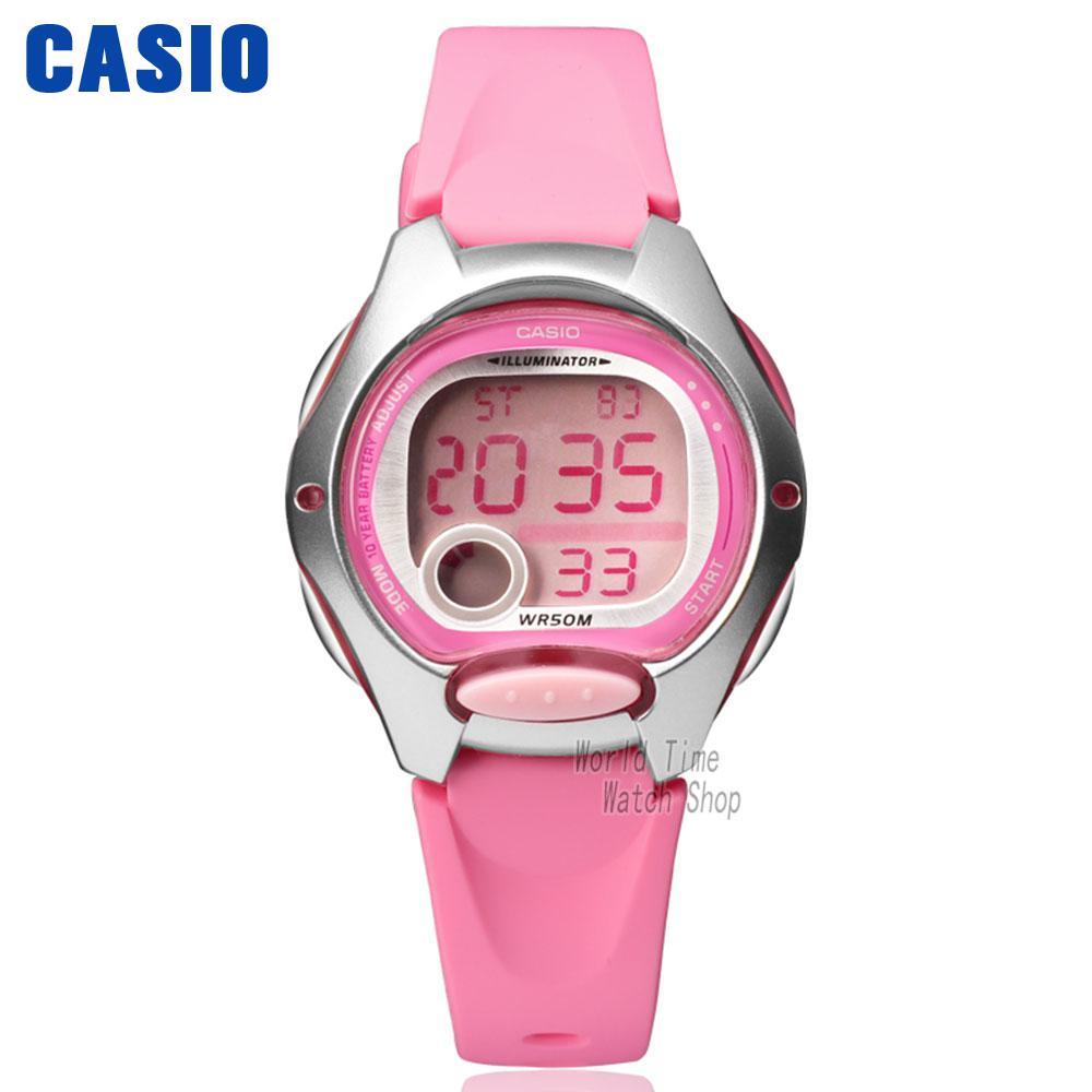 Casio часы мода женщины Спорт студент часы ДВ-200-4Б ДВ-200-7А