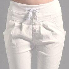 pants capri trousers women linen leggings summer 2020 lady c