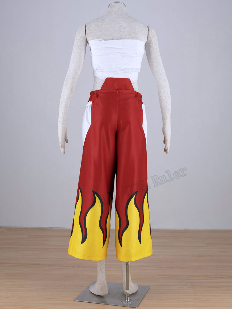 Fairy Tail Erza Scarlet Flame Cosplay Costume Any Size# free shipping