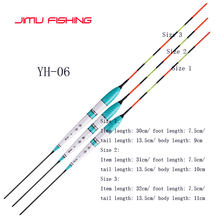 3 Pcs/lot Electric Fishing Mengapung Malam Lampu Bercahaya Float Balsa Boya Air Flotador Gurami Memancing Tackles Tanpa Baterai(China)