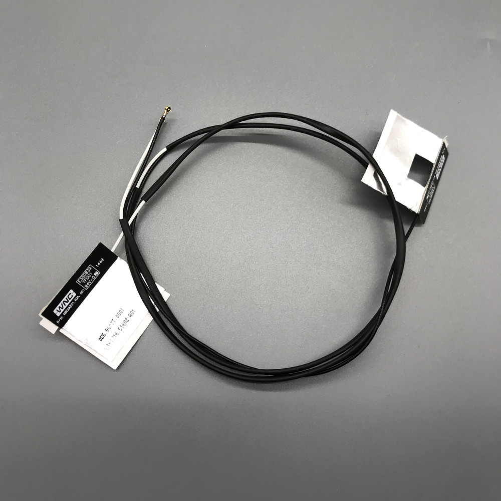 1 set 2.4&5G WNC Laptop Wifi Internal NGFF/M.2 IPEX MHF4 Antenna for DW1560 DW1830 Killer 1535 1525 Card B+W