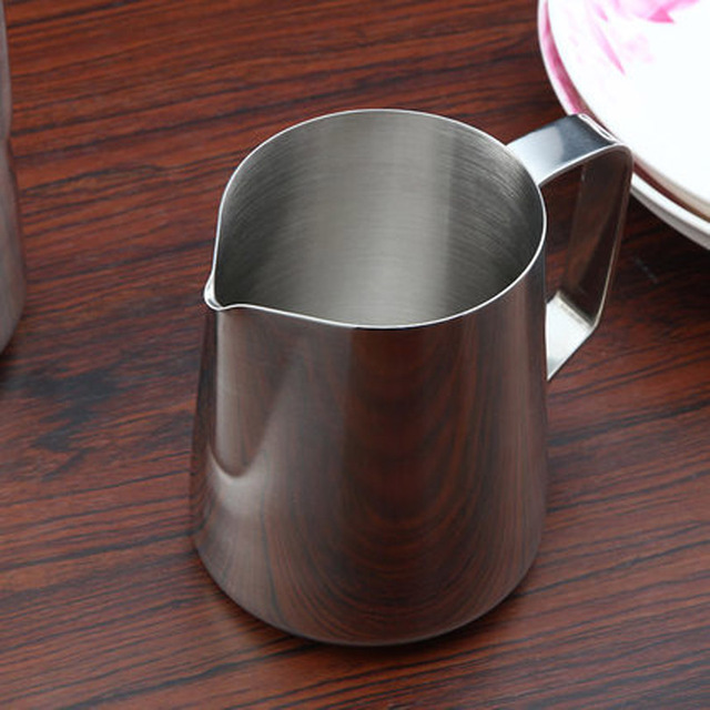 Stainless Steel Milk Steaming Pitcher 6