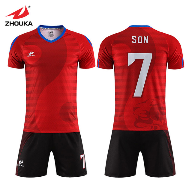 b8586cc06c8 Full Sublimation Custom Soccer Uniforms Sports Jersey For Man Boys kits diy  tracksuit france Football Shirt Short Jerseys Soccer