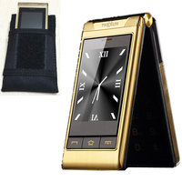 Gift 3 0 Dual Screen Cell Phones Dual SIM Card One Key Call FM Senior Touch