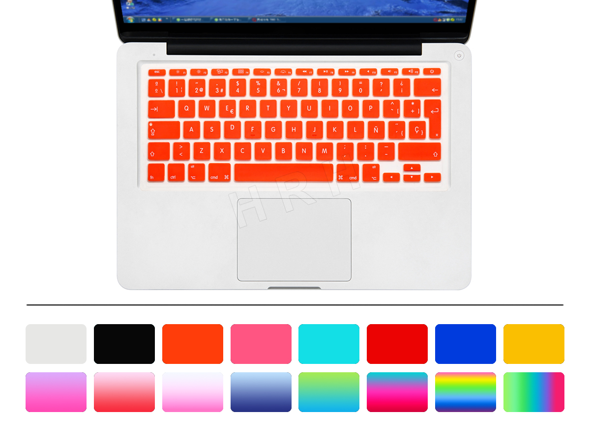 HRH Uni-kleur Waterdicht ultradunne Spaanse Siliconen Toetsenbord - Notebook accessoires - Foto 3