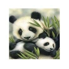 DIY 5D Алмаз Вышивка Живопись Panda Mater и Детские Крестиком Ремесло Новый Dropshipping FAS