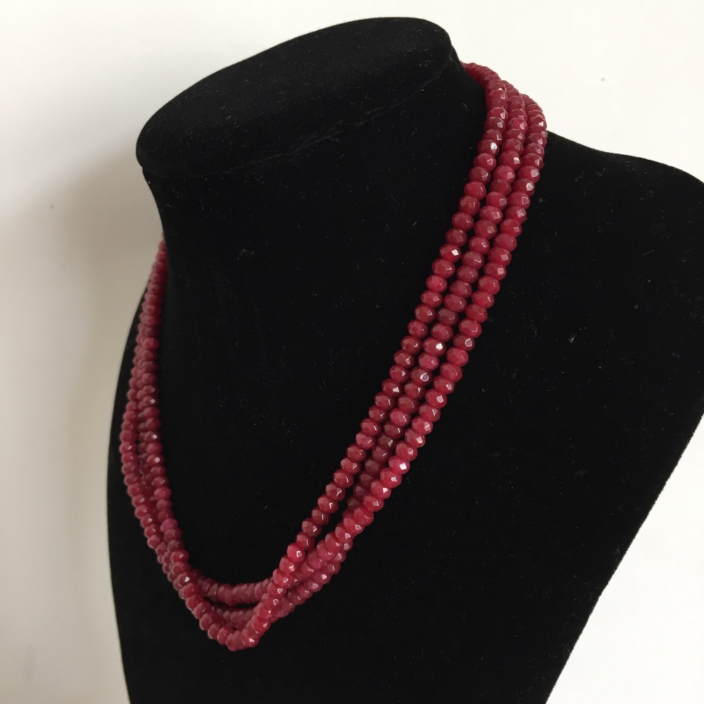 EMERALD /& SAPPHIRE BEADS NECKLACE FABULOUS TOP BEST 382.50 CTS EARTH MINED RUBY