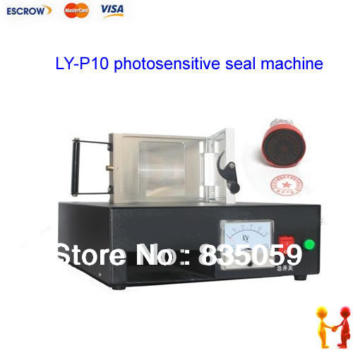 New Released LY-P10 photosensitive seal machine,PSM machine. PSM machine 60*100mm new 220v photosensitive portrait flash stamp machine kit self inking stamping making seal holder film pad no ink