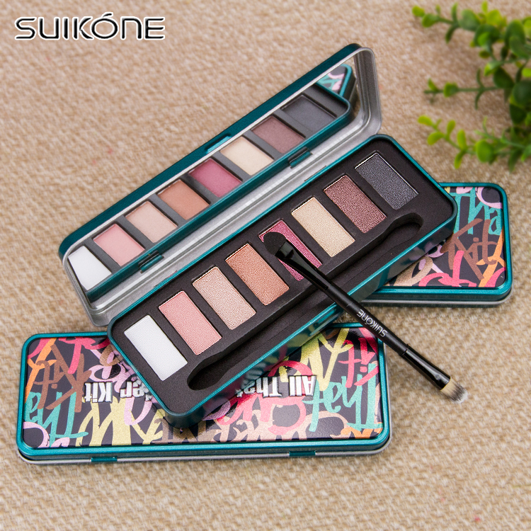 [Visit to Buy] FOCALLURE Makeup Metallic lipstick Glitter