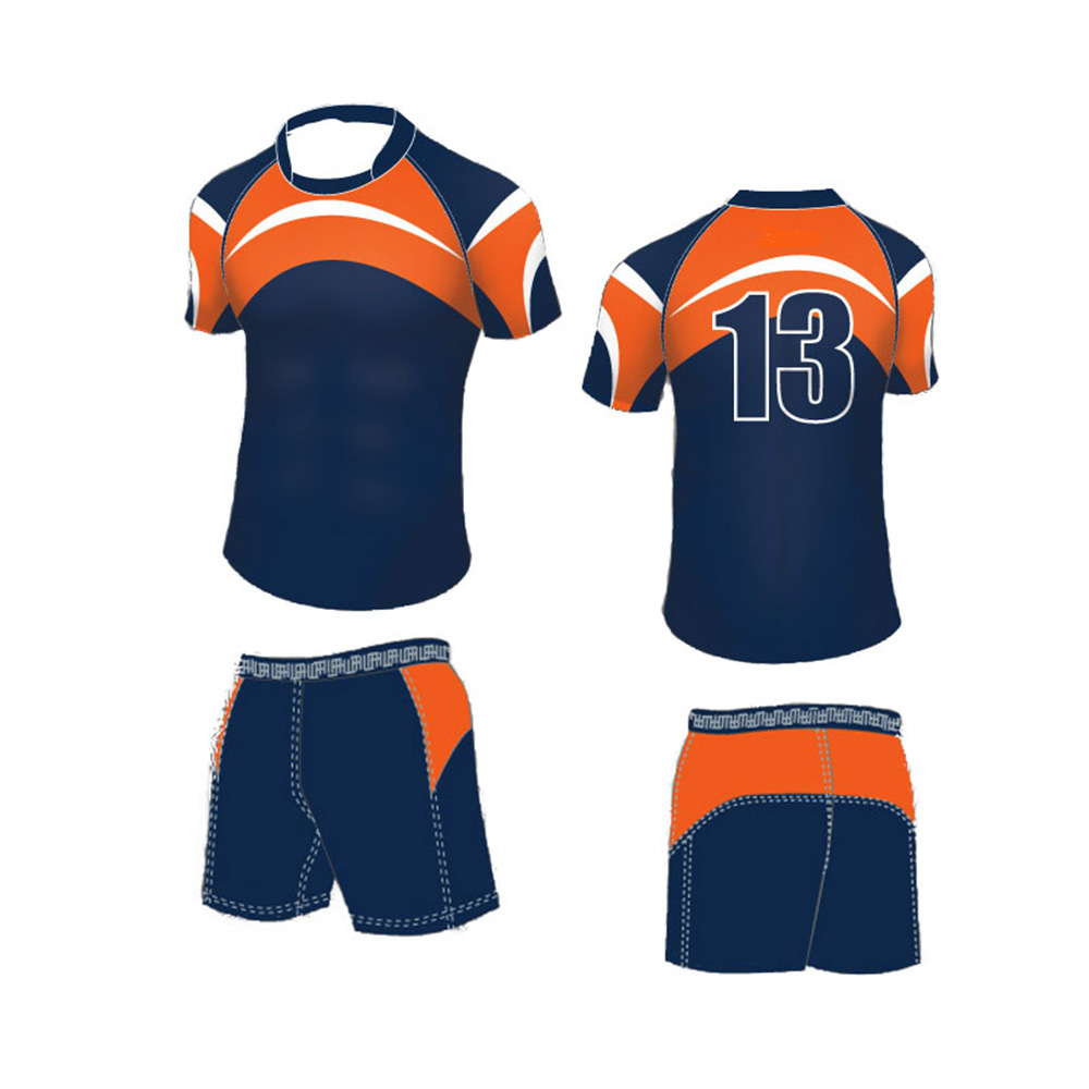 Design t shirt rugby - Wholesale Sublimation Custom Daily Exercise Cheap Rugby Jersey Design Customized Blank Mens Rugby Shirt Rugby