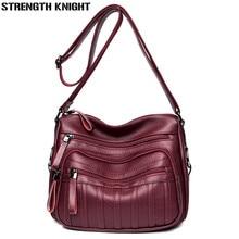 Luxury Women Messenger Bags Designer Woman Bag 2019 Brand Leather Shoulder Bags Casual Female Tote Bag Sac A Main Femme Bolsos все цены