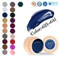 #50618 factoy canni clavo llevado gel de dibujo 141 colores pure gel empapa de gel de pintura de uñas profesional 621 ~ 641