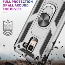 For Samsung Galaxy J3 J7 2018 J337 SM-J337 Phone case Kickstand Armor Covers J737 SM-J737 Magnet
