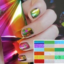 50 Pcs Symphony Nail Foil Stickers Star Starry Art Polish Transfer Decal DIY