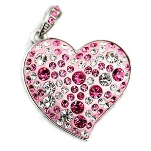 Jewelry Heart Mini USB Flash Drive U Disk Flash Disk 64GB 32GB 16GB 8GB Memory Pen Driver Gifts Gadget Gift Memory Stick Key 2.0