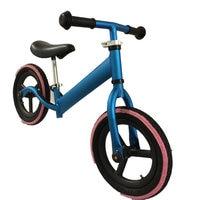 Novo 12 Polegada Striders Equilíbrio Bicicleta Vermelha Azul Prateado Bicicleta Do Miúdo de Alta Qualidade