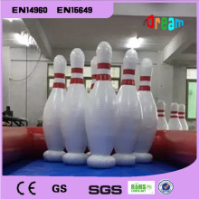 Free Shipping!1.8m Inflatable Human Bowling Game, Zorb Ball For Bowling, Outdoor Human Bowling Sport