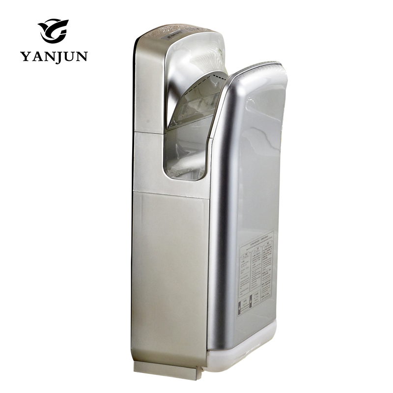 Jet Hand Dryer Commercial Fast velocity Automatic Hand Dryer sensor automatic hand dryers machine hand-drying device YJ-2270 цена
