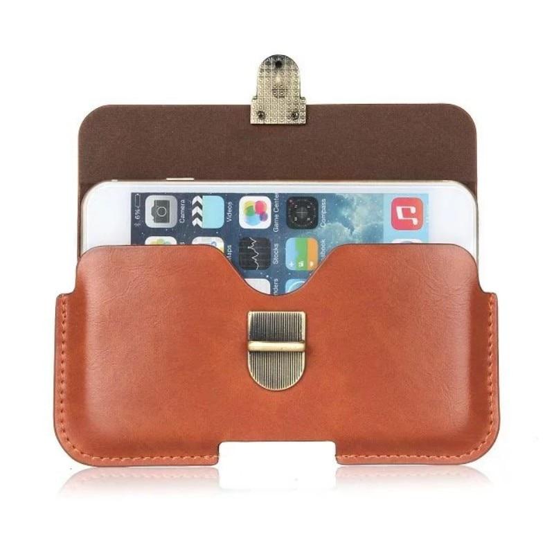 PU Leather Belt Clip Pouch Cover Case for Micromax Canvas Pulse 4G/<font><b>Pace</b></font> 4G/Nitro 3 E352/Xpress 4G/<font><b>Amaze</b></font> Q395 5 Inch