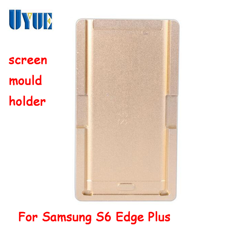 цена на UYUE Aluminium Alloy Mould Mold for Samsung S6 Plus Edge of LCD Touch Screen Separator Display Repair Refubish Machine Tool