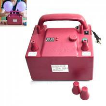 220 v ue 110 v eua plug 800 w b362p duplo buraco multifuncional timing quantitativa elétrica balão de aniversário bomba inflator baloon