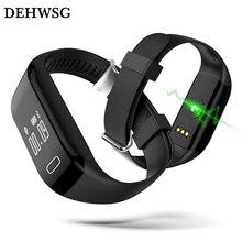 Dehwsg умный Браслет H3 Поддержка монитор сердечного ритма подсчет калорий Шагомер фитнес-трекер Браслет для iPhone IOS Android