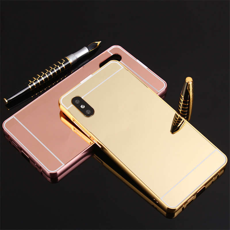For Samsung A70 case Luxury Mirror Aluminum Back Cover For Samsung Galaxy A20 A30 A 70 2019 Metal Frame coque Fundas image