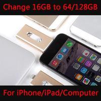עיצוב חדש כונן הבזק מסוג usb otg עבור iphone ipad, OTG 16 GB 32 GB 64 GB 128 GB Pendrive מקל זיכרון באיכות טובה 512 GB 1 TB 2 TB מתנה