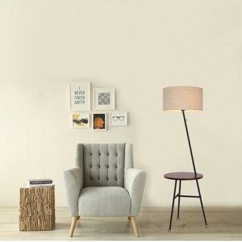 Art-deco Walnut Floor Lamp