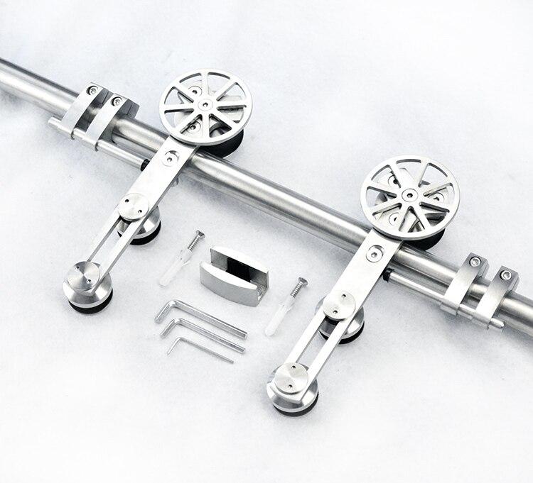 popular stainless steel sliding door hardware buy cheap stainless steel sliding door hardware. Black Bedroom Furniture Sets. Home Design Ideas