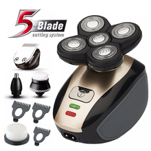 5 in 1 Multifunctional Electric Shaver 5 Blade Razor For