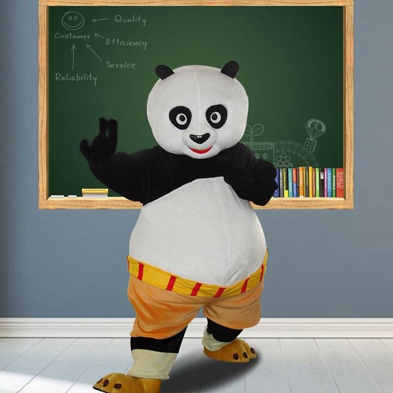Panda Bear Mascot Costume Adult Character Mascot Cartoon Character Mascot