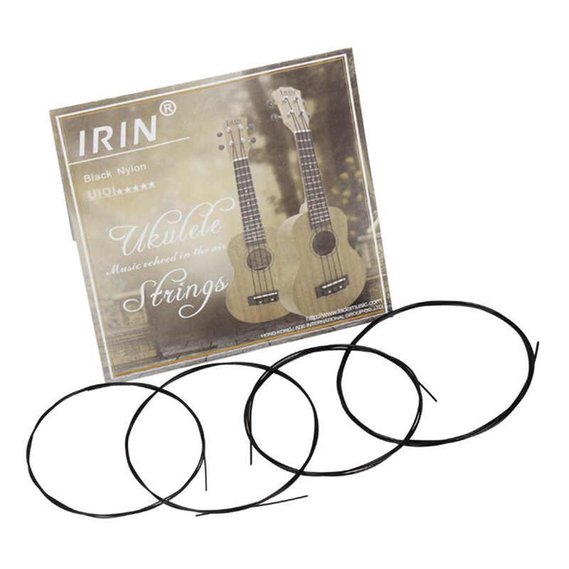 4 pièces/ensemble Nylon ukulélé cordes pièce de rechange pour 21 pouces 23 pouces 26 pouces Instrument à cordes