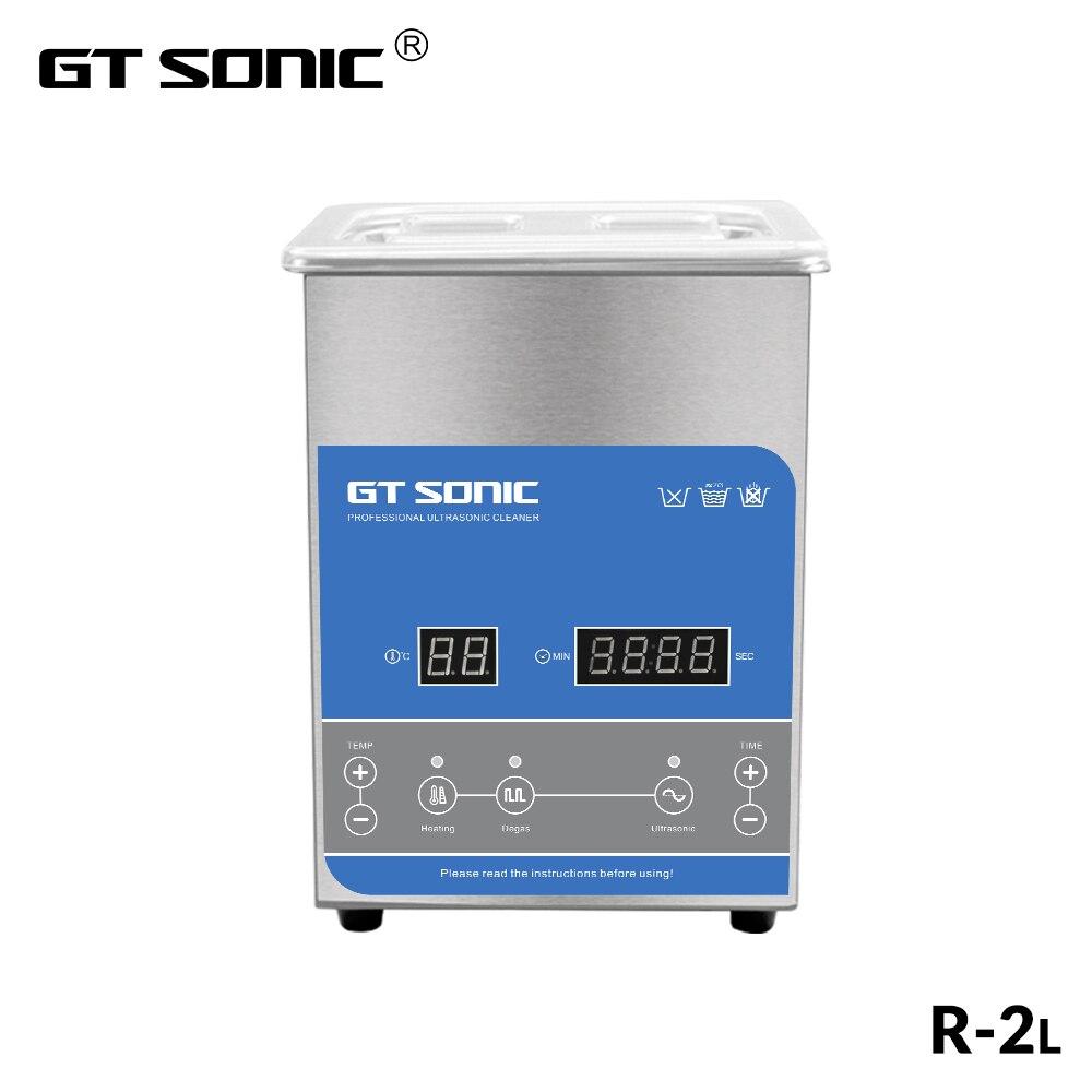 GTSONIC R2 Ultrasonic Cleaner 2L 50W ดิจิตอลจอแสดงผลความร้อน Degas ตะกร้า Ultrasonic Bath-ใน ตัวทำความสะอาดอัลตราโซนิก จาก เครื่องใช้ในบ้าน บน AliExpress - 11.11_สิบเอ็ด สิบเอ็ดวันคนโสด 1