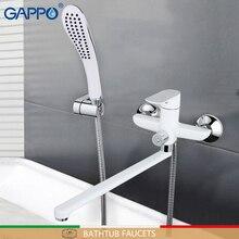 GAPPO смеситель для ванной комнаты вращающийся кран на бортике смесители водопад кран раковина кухонный смеситель кран