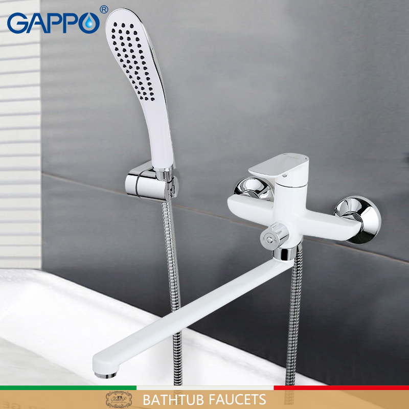 GAPPO bathtub faucet bathroom rotatable faucets deck mounted mixers waterfall faucet sink kitchen mixer tap faucets(China)