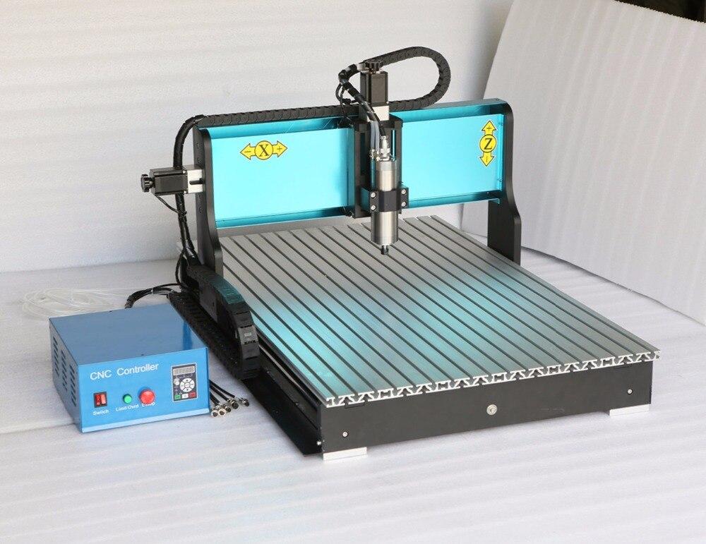 3 axes 6090 CNC routeur 800 W 0.8KW broche gravure Machine USB Mach3 AC220V/AC110V 3 axes CNC graveur pour la sculpture sur bois