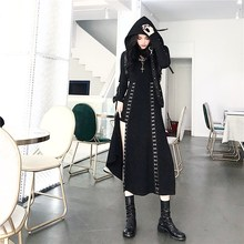 Gothic Dress Chic A-Line Casual Women Vintage Black