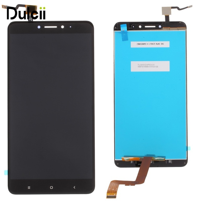 Dulcii For Xiaomi Mi Max OEM LCD Display Touch Screen Digitizer Assembly Replacement Part For Xiomi Mi Max Black