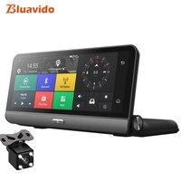 Bluavido 8 Inch 4G Car DVR ADAS Android GPS naivgation HD 1080P Dash camera Video Recorder Night vision Phone APP Remote Monitor