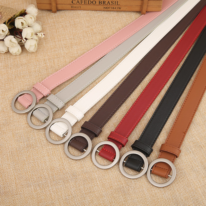 2018 Summer Korean Style CuteCandy Colors PU Leather Thin