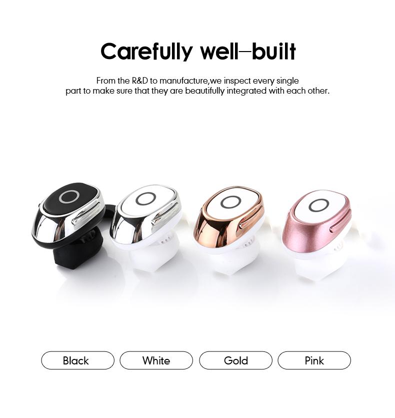 1 wireless mini earpiece