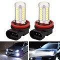 2 Unids/lote Faros Del Coche LED/DRL/Fog H11 6500 K 800LM 5630 33SND Externa Luces de Circulación Diurna car-styling