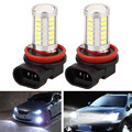 2Pcs/Lot LED Car Headlamps/DRL/Fog Lamps 6500K 800LM H11 5630 33SND External Daytime Running Lights car-styling
