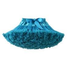 Children Dance Skirt Girls petti Skirt Princess Skirt Malachite Green Fluffy and soft baby skirt