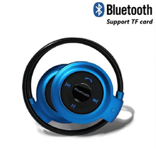 MINI503 Bluetooth Earphone Sport Wireless Earbuds Support TF Card with  Bass Stereo Headphone Music for Smart Phone ttlife wireless wired bluetooth earphone tf card sport stereo music subwoofer headphone with mic for android phone xiaomi huawei