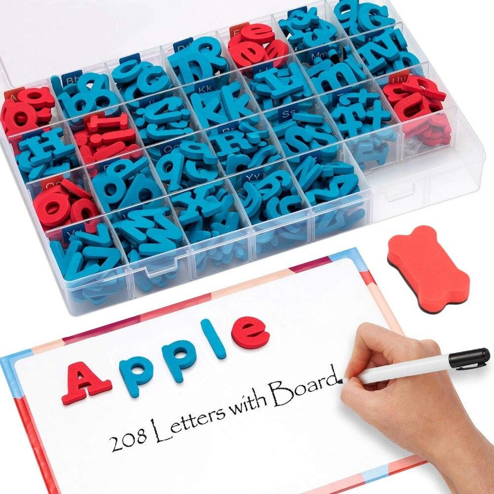 magnetic foam letters 208pcs